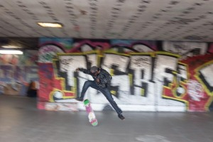 tracking shot within the South Bank Skate Park, again please sign their petition.